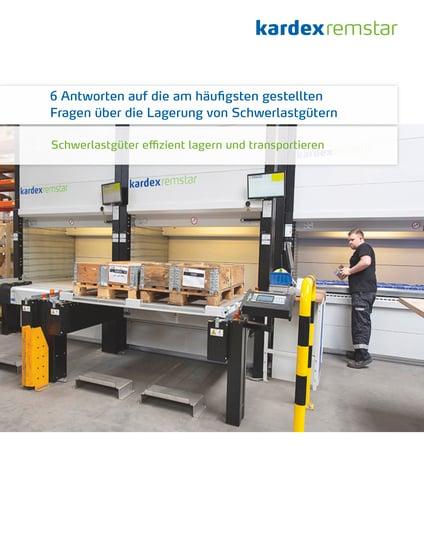 Schwerlastgüter effizient lagern und transportieren - Vorschau