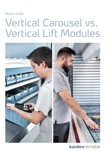 vertical carousel vs Vertical Lift Module